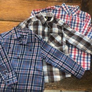 Brand names boys shirt lot